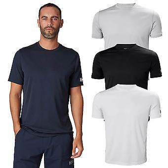 Helly Hansen Mens 2020 Tech Lightweight Moisture Wicking Koszulka z krótkim rękawem