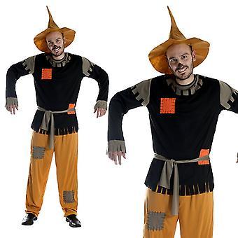 Scarecrow fairy tale costume men