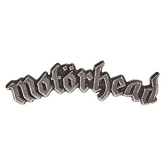 Motorhead Lapel Badge classic band Logo England new Official Alchemy Silver