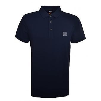 Hugo Boss rento miesten matkustaja Slim Fit tumman sininen Polo paita