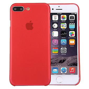 Voor iPhone 8 PLUS,7 PLUS Case, Elegante Ultra-dunne Super-light Duurzame Cover, Rood