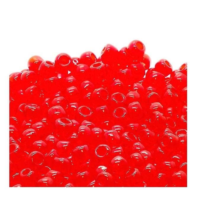 Toho Toho Seed Beads 6/0 - Transparent Siam Ruby - 10g