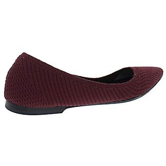 Alfani Womens Poppy Woven Fabric Almond Toe Casual Slide Sandals
