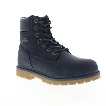 Lugz Brace HI  Mens Blue Synthetic Lace Up Casual Dress Boots