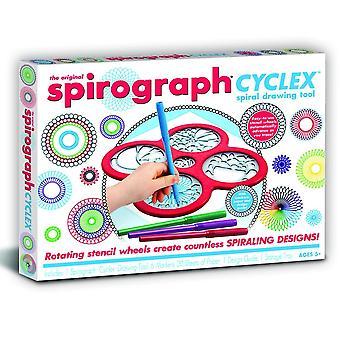 Flair den ursprungliga Spirograph Cyclex Spiral Drawing Tool