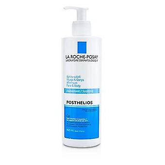 La Roche Posay Posthelios After-Sun face & amp; Gel calmante corporal-400ml/13.3 oz