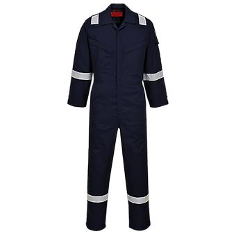 Portwest araflame silver workwear coverall af73