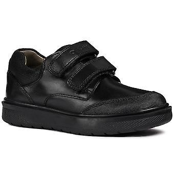 Geox ريدوك مزدوجة Riptape بنين أحذية المدرسة الإعدادية