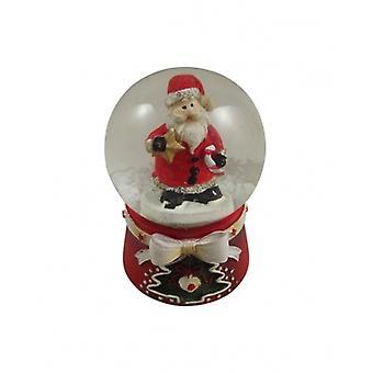 Gisela Graham Miniature Christmas Snow Globe Decoration