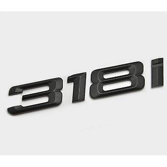 Matt Black BMW 318i Car Model Rear Boot Number Letter Sticker Decal Badge Emblem For 3 Series E36 E46 E90 E91 E92 E93 F30 F31 F34 G20