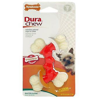 NYLABONE kości smak podwójne boczek (psy, zabawki & Sport, żuć zabawki)