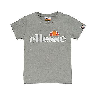 Ellesse Heritage Malia Junior Kids T-Shirt Shirt Tee Grey