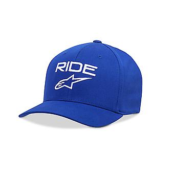 Alpinestars Mens Cap ~ Ride 2.0 royal blue/white