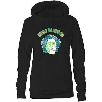 Damen Sweatshirts Kapuzen Hoodie - HELLLOOOO!