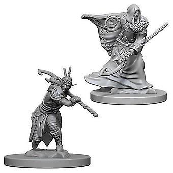 D&D Nolzur's Marvelous Unpainted Miniatures Elf Male Druid (Pack of 6)