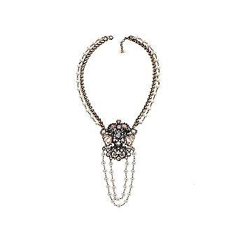 Elisabetta Franchi Co07d83e228 Women's White Brass Necklace