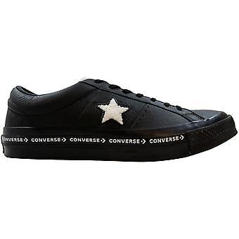 Converse One Star OX Black/White 159721C Men's