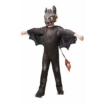 How To Train Your Dragon Childrens/Kids Toothless Costume