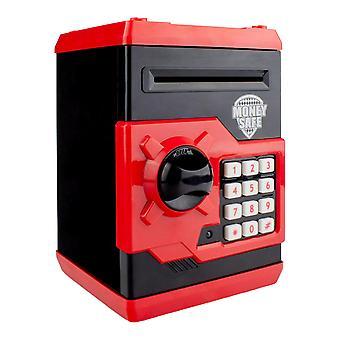 Caja de ahorros en forma de caja fuerte