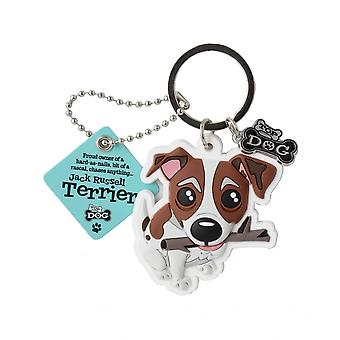Wags & Whiskers Jack Russell Terrier Sleutelhanger