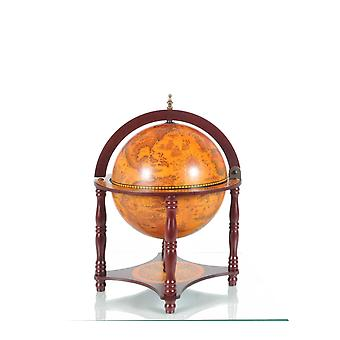 """16.5"""" x 16.5"""" x 22"""" Red Globe with Chess Holder"""
