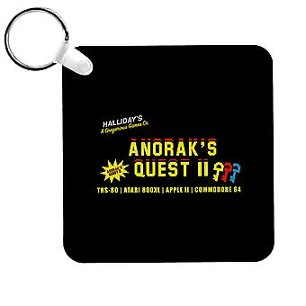 Ready Player One Anoraks Quest Keyring