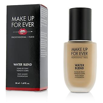 Water mix face & body foundation # r330 (warm ivoor) 209945 50ml/1.69oz