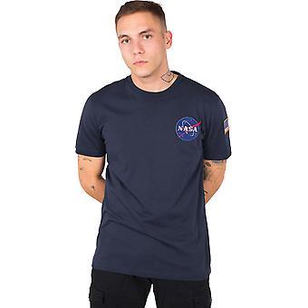 Alpha Industries Space Shuttle T-Shirt Navy 79