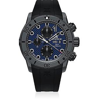 Edox - Wristwatch - Men - CO-1 - Carbon Chronograph Automatic - 01125 CLNGN BUNN