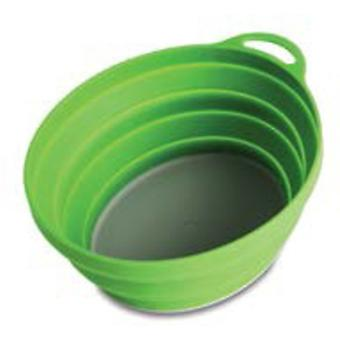 Lifeventure Silicon Ellipse Collapsible Bowl - Vert