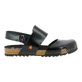 The Art Company 1258 Creta Closed Toe Sandal Black
