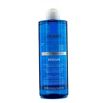 Kerium extra gentle physiological shampoo with la roche posay thermal spring water (for sensitive scalp) 147729 400ml/13.5oz