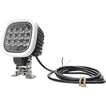 WAS Working light 12 V, 24 V W130 7000 Spot 1208 Long range illumination (W x H x D) 110 x 159 x 86 mm 7000 lm
