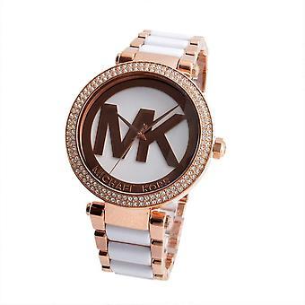 Michael Kors MK6365 Parker Rose Gold-Tone Ladies Watch