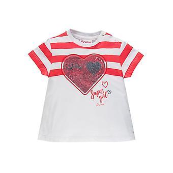 Brums Milano Jersey T-paita Paljetit Sydän
