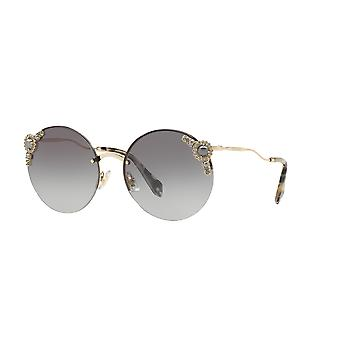 Miu Miu SMU52T WO43M1 Pale Gold/Grey Gradient Sunglasses