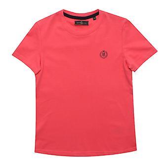 Boy's Henri Lloyd Junior Radar T-Shirt in Pink