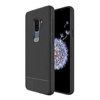 لسامسونج غالاكسي S9 + زائد درع حالة المفاجئة الأسود درع صدمة واقية غطاء سليم
