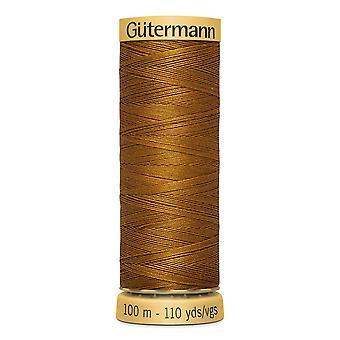 Gutermann 100% Natural Cotton Thread 100m Hand and Machine Colour Code  - 1444
