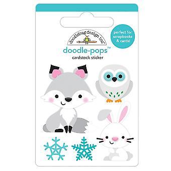 Doodlebug Design Foxy & Vänner Doodle-Pops