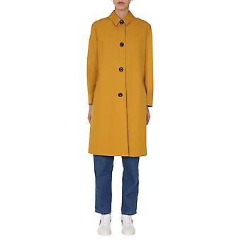 Ps Door Paul Smith W2r160ce3059913 Women's Gold Cotton Trench Coat