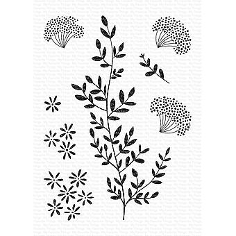 My Favorite Things Dandelion Greenery Clear Stamps