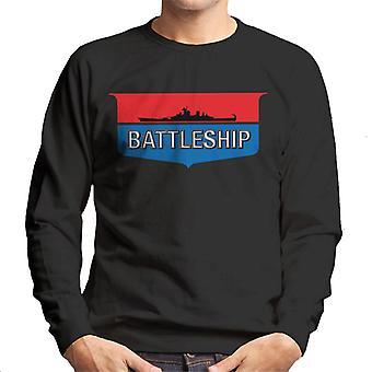 Hasbro Schlachtschiff Retro Logo Men's Sweatshirt