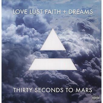 30 Seconds to Mars - Love Lust Faith + Dreams [Vinyl] USA import