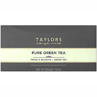 Taylors Of Harrogate Pure Green Enveloped Tea Bags