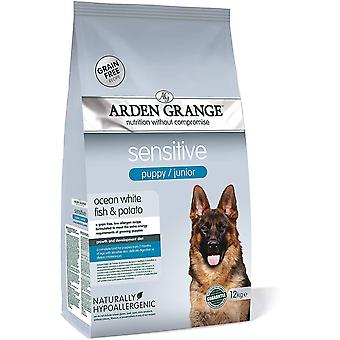 Arden Grange Puppy Junior Sensibile - 12kg