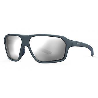 النظارات الشمسية Unisex المسار مات الأزرق / الفضة