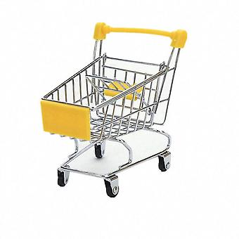 Mini Shopping Cart, Pretend Play Kids- Simulation Supermarket Hand Trolleys