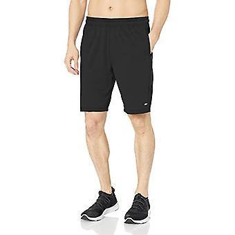 Essentials Men's Tech Stretch Training Short, Black, Medium