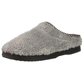 Dearfoams Womens Woven Clog Closed Toe Slip On Slippers